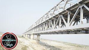 Munger Ganga Bridge - Image: Munger pool