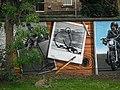 Mural, Kelvingrove Park. 8 - bicycles, ordinary - geograph.org.uk - 1517017.jpg