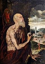 Musée Ingres-Bourdelle - Saint Jérôme pénitent - Frans Pourbus (I) - Joconde06070000208.jpg