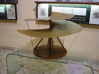 Museo Nazionale Scienza e Tecnologia Leonardo da Vinci - Leonardo da Vinci flying machine