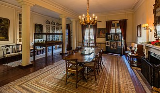 American Legation, Tangier - Dining room.