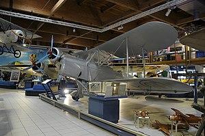 Museo dell'Aeronautica Gianni Caproni Ca.163.JPG