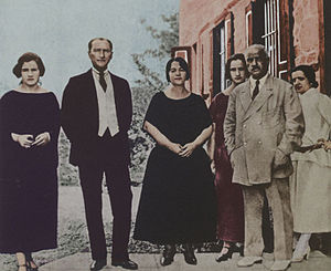 Latife Uşşaki - Image: Mustafa Kemal Pasha&Latife Hanim&Family early 1923