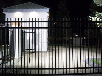 Stockdale High School (Bakersfield, California) - Ticket Booth at Mustang Field
