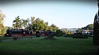 Reșița Steam Locomotive Museum - Image: Muzeul de locomotive cu abur din Resita (2)