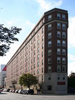 Myles Standish Hall College dormitory