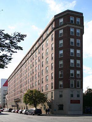 Boston University Housing System - Myles Standish Hall on Beacon Street