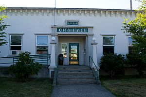 Myrtle Point, Oregon - Myrtle Point City Hall