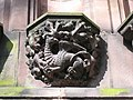 Mythical beast on Chester cathedral - geograph.org.uk - 788233.jpg