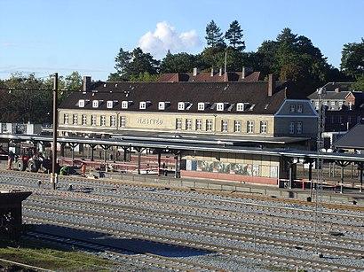 Sådan kommer du til Næstved Station med offentlig transport – Om stedet