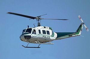 Iranian Police Aviation - Image: NAJA Agusta Bell 205A