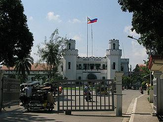 Muntinlupa - Facade of New Bilibid Prison
