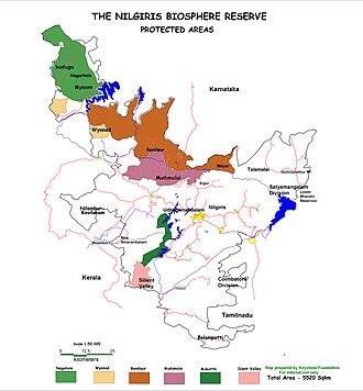 Sathyamangalam Wildlife Sanctuary - Sathyamangalam Forest Division in Nilgiri Biosphere Reserve