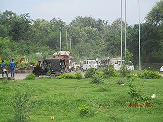 National Highway 105 (India) - NH 105 at Pinjore