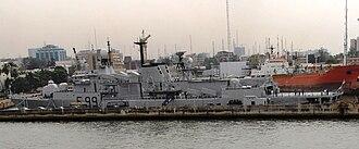 Nigerian Navy - Image: NNS Aradu F89
