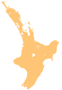 Te Kuiti is located in North Island