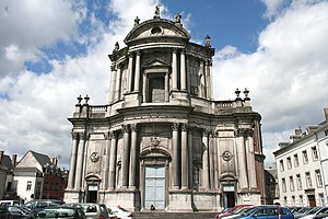 St Aubin's Cathedral - Namur, St Aubin's Cathedral (1751-1767)