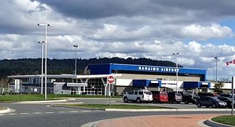 Nanaimo Airport - Image: Nanaimo Airport Collishaw Terminal