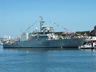 HMCS Nanaimo (MM 702) - Image: Nanaimo Canada Day 09