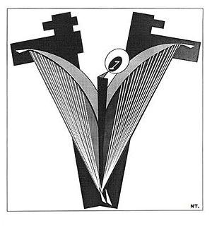 "Soviet Nonconformist Art - Natalia Toreeva, ""The New Beginning"", computer graphics, 1992"