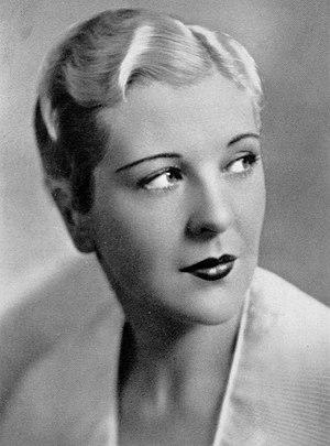 Natalie Moorhead - Moorhead in 1930