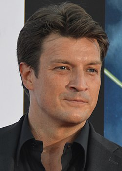 Nathan Fillion juli 2014