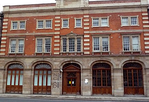 Thomas Street, Dublin - The new National College of Art and Design, formerly the fire station in Thomas St.
