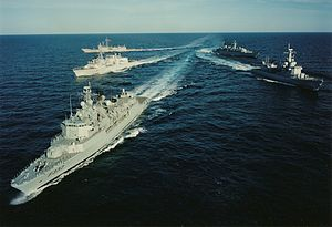 Operation Sharp Guard - Image: Nato Ships