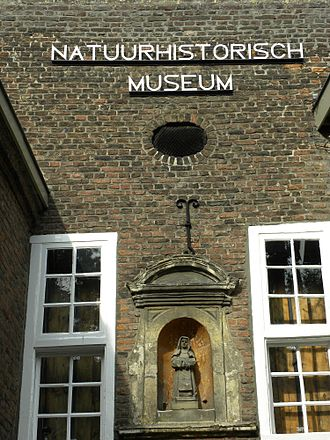 Maastricht Natural History Museum - Front of the museum in 2010