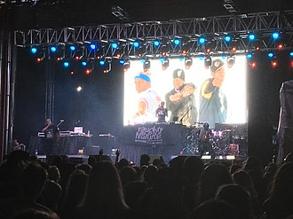 Naughty by Nature - Naughty by Nature performing at InfoCision Stadium in Akron, Ohio, August 2018