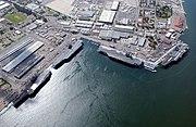 Naval Station San Diego aerial