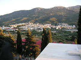 View of Neapoli from its graveyard