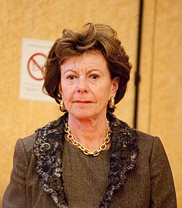 Neelie Kroes in 2010
