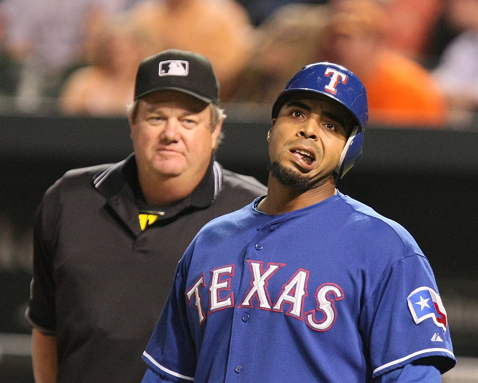 Nelson Cruz and Joe West
