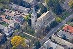 Nepomuki Szent János-templom légi felvételen, Sióagárd.jpg