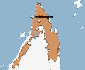 Nesoddtangen - Urban area of Nesodden (2005)