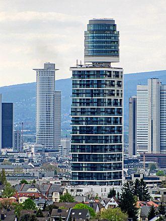 Henninger Turm - The new Henninger-Turm in 2017