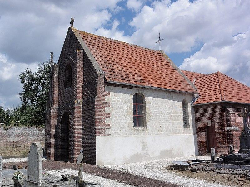 Neuflieux (Aisne) église Saint-Martin