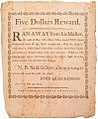 New York Reward Broadside for Ran-Away Slave Tom, Dated 1793.jpg
