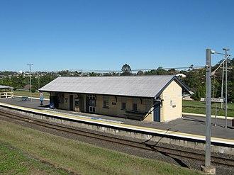 Newmarket, Queensland - Newmarket Railway Station