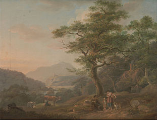 A Landscape with Figure