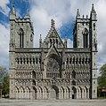 Nidaros Cathedral, Trondheim, West view 20150605 1.jpg