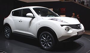 English: Nissan Juke at the 2010 Geneva Motor Show