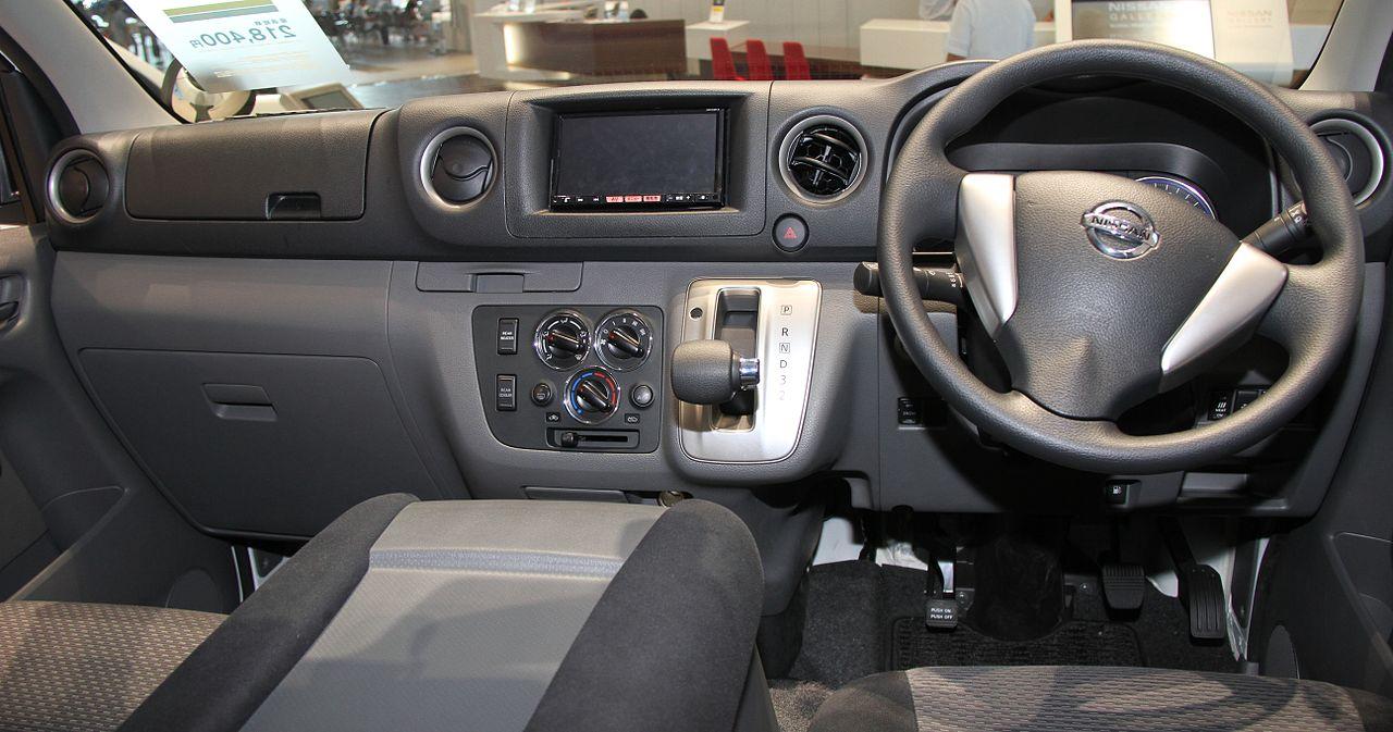 ファイル Nissan Nv350 Caravan Interior Jpg Wikipedia