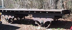 Swiss Northern Railway - A Swiss industrial flat wagon