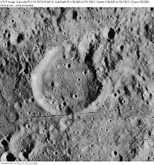 丰塔纳陨石坑