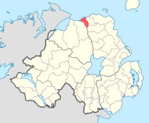 North East Liberties of Coleraine - Image: North East Liberties barony