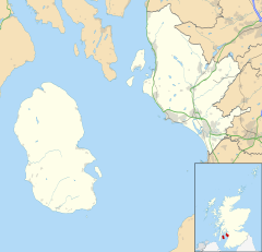 Brodick is located in North Ayrshire