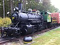 North Carolina Railroad Museum ^ New Hope Valley Railway Oct 2013 Steam Locomotive came from Stone Mountain, GA ^110 - panoramio.jpg