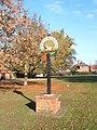 North Wootton village sign - geograph.org.uk - 272326.jpg